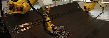 robots for composites manufacturing