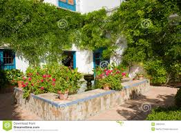 courtyard of a house in cordoba spain stock photo image 47993979