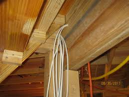 electrical rough in complete tv cable run blog post at