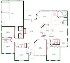 one floor plan single house plans simple one house plans storey home