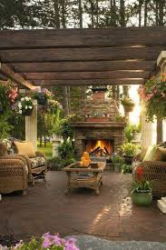 Backyard Patio Landscaping Ideas 502 Best Patio Designs And Ideas Images On Pinterest Backyard