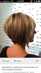 A Line Shortstack Bob Hairstyle For Women Over 50 | textured concave bob google search hair pinterest concave