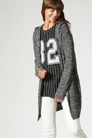 franny hooded knit cardigan