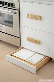 cutting kitchen cabinets kitchen with cutting board drawer contemporary kitchen
