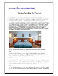 Bed Position Feng Shui The Best Feng Shui Bed Position