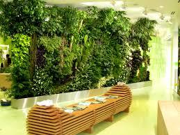 indoor vertical garden at atrium home decorations insight