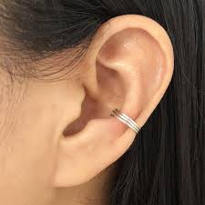 creative earrings online shop pinjeas handmade bar creative earrings ear cuff no