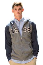 sweatshirts u0026 fleece zip up jersey knit hoodie vantage