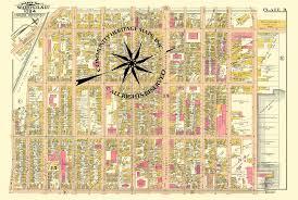 Boston Street Map Antique Historic Original And Restored Maps Of South Boston