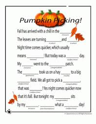 fall mad libs pumpkins 231x300 fall mad libs for fall