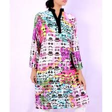 emoji robe multi color emoji printed ladies kurti vrj 1610