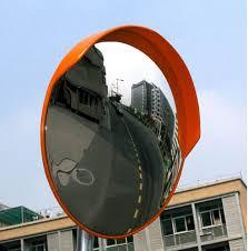 Lensa Cembung Selfie mengenal cermin tikungan safety mirror mansarpost