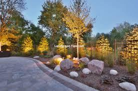 Abc Garage Doors Houston by Landscape Lighting Houston 4 Best Landscape Design Ideas