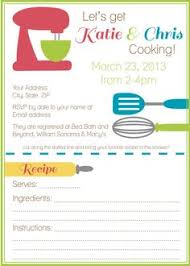 bridal shower for the bride to be who loves to cook here are