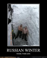 Winter Meme - the russian winter is cold so cold that the walls 118425485