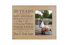 20th anniversary gifts the best 20th wedding anniversary gifts finder