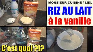 recettes cuisine plus riz au lait à la vanille recette monsieur cuisine lidl silvercrest