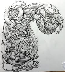 stylised arm and chest design by design on deviantart