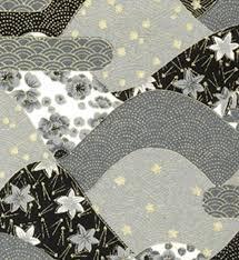 japanese pattern black and white 30 black grey white and gold collage japanese chiyogami yuzen