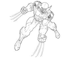 wolverine coloring pages ppinews co