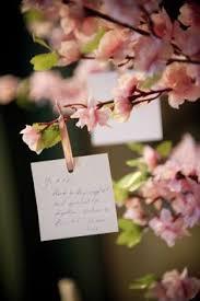wedding wishes japan wishing tree diy prettiness organic ideas fallen branches