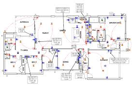 Electrical Plan by Floor Plans Monaco Build