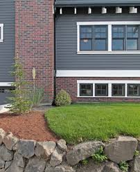 gray siding with brick curb appeal pinterest grey siding