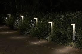 kogan 10 pack solar garden path lights l shaped kogan