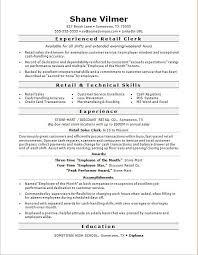 exles of retail resumes resume exles for retail sales fungram co