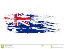 Aussie Flag Australian Flag Illustration 11166745 Megapixl