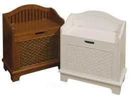 Bathroom Storage Seats Rattan Bathroom Storage Wicker Storage Bench Seats White Wicker