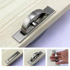 Recessed Cabinet Door Pulls Scintillating Flush Door Handle Gallery Ideas House Design
