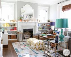 fresh and party ready living room inspired by charm
