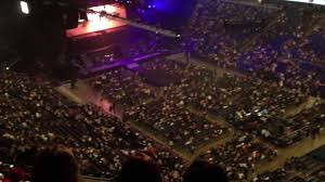 the o2 arena london view from block 408 level 4 youtube