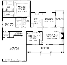 gardner floor plans country style house plan 3 beds 2 baths 1428 sq ft plan 929 398
