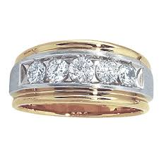 mens diamond wedding rings men s 1 carat diamond wedding bands wedding idea