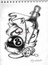 100 terrific dice tattoos that looks great on your skin golfian com