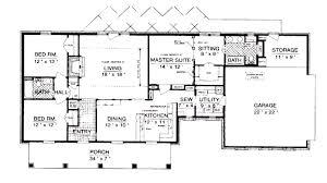 open floor house plans one floor plan 1500 sq ft house plans open floor plan 2 bedrooms the