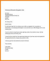 polite resignation letter 4 a basic 4 paragraph resignation