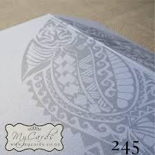 wedding invitations auckland maori wedding invitation 140mm letterfold mycards auckland nz