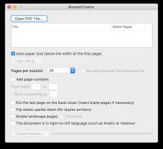 8x10 resume paper bookletcreator create a booklet from a pdf document bookletcreator for mac