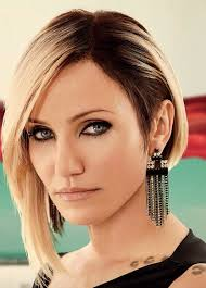 Bob Fris by Cameron Diaz Amazing Assymetrical Bob This Cut And Colour Is