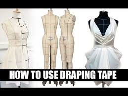 how to use draping tape youtube