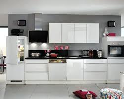 panneau cuisine finition de cuisine cuisine droite blanc premium brillant ultra