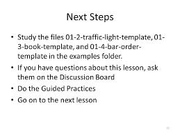 templates cs 5010 program design paradigms u201cbootcamp u201d lesson ppt