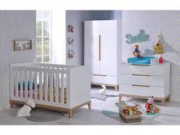 chambre bebe lit et commode chambre bébé siki blanc lit commode armoire