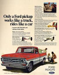 Ford Old Pickup Truck - 70s madness 10 years of classic pickup truck ads the daily