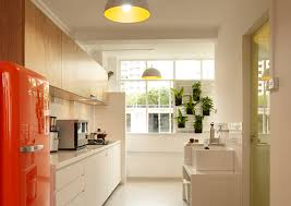 Kitchen Design Hdb Conventions Are Thrown Out The Door In Favour Of Old Chic
