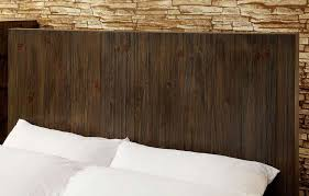 Wood Panel Headboard Low Profile Bed With Flat Wood Panel Headboard Fa24