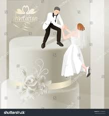 card for groom illustration wedding invitation card groom stock vector